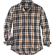 Carhartt Men's Hubbard Plaid Long Sleeve Shirt