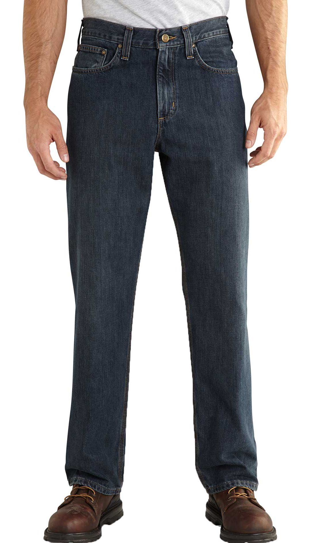 salvare a9f8b 9920c Carhartt Men's Relaxed-Fit Holter Jeans