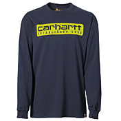 Carhartt Men's Workwear Graphic Wood Plank Long Sleeve Shirt