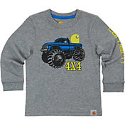 Carhartt Toddler Boys' 4x4 Monster Truck Long Sleeve Shirt