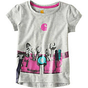 Carhartt Toddler Girls' Tool Belt Short Sleeve T-Shirt
