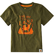 Carhartt Toddler Boys' Live off the Land Short Sleeve T-Shirt