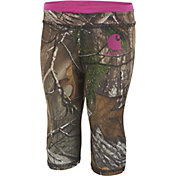 Carhartt Toddler Girls' Camo Capri Leggings