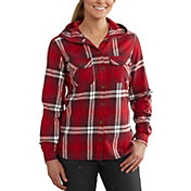 Carhartt Women's Belton Hooded Flannel