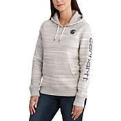 Carhartt Women's Clarksburg Graphic Sleeve Pullover Hoodie