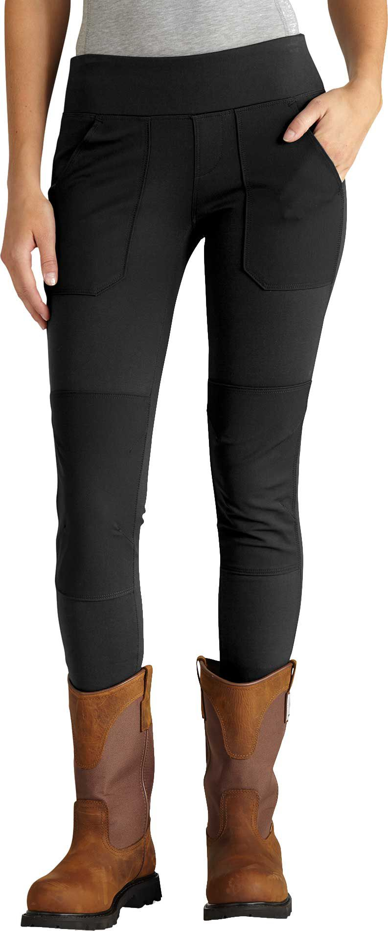 Carhartt Women's Force Utility Knit Leggings, Size: XS, Black thumbnail