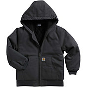 Carhartt Boys' Active Flannel Quilt-Lined Jacket