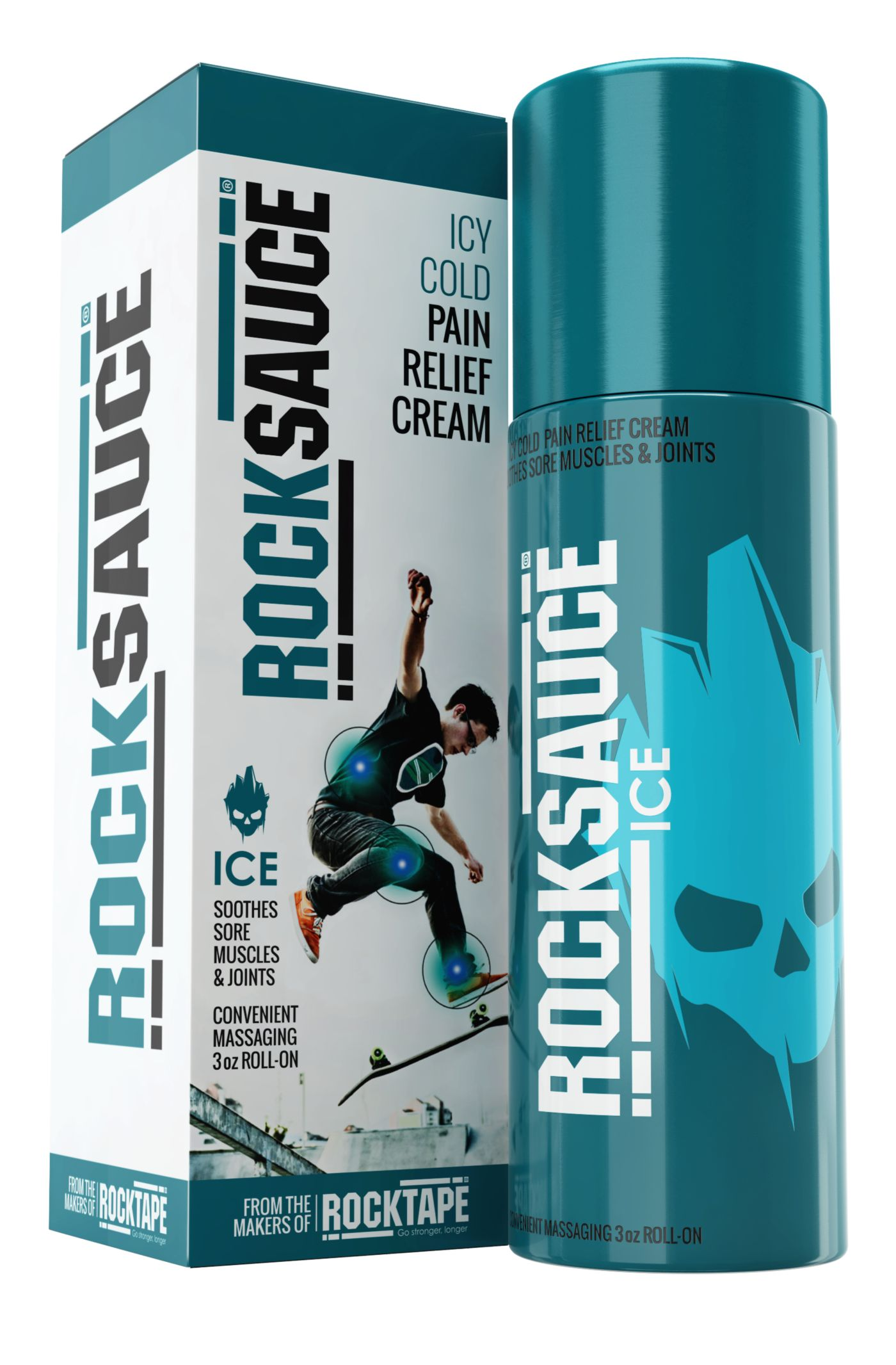 RockSauce Ice Relief Cream