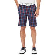 Callaway OptiStretch Printed Plaid Shorts - Big & Tall