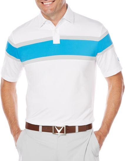 Callaway OptiDri Chest Stripe Polo - Big & Tall