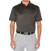 Callaway Men's Denim Jacquard OptiDri Golf Polo