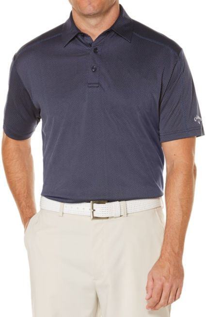 Callaway Denim Jacquard OptiDri Polo