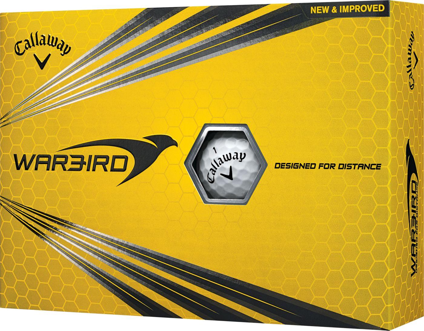 Callaway Warbird Golf Balls - 12 Pack