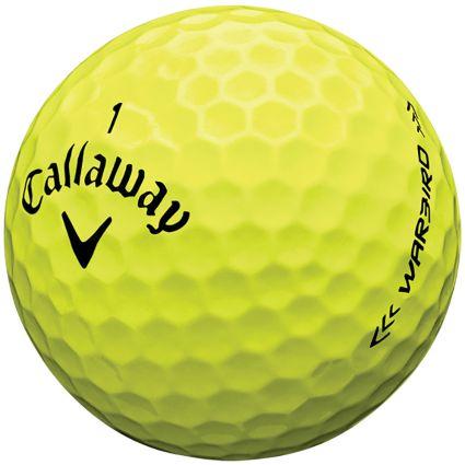 Callaway Warbird Yellow Golf Balls - 12 Pack