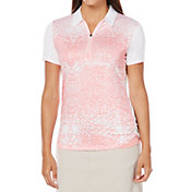 Callaway Women's OptiShield Floral Print Polo