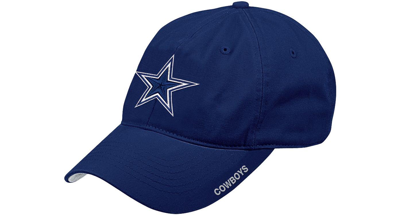 Dallas Cowboys Merchandising Men's Slouch Adjustable Navy Hat