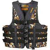 DBX Men's Camo Nylon Life Vest