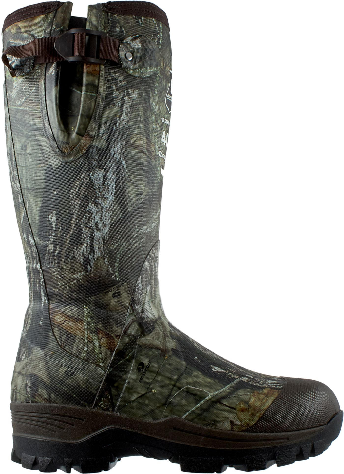 Field & Stream Men's Swamptracker Mossy Oak 400g Rubber Hunting Boots