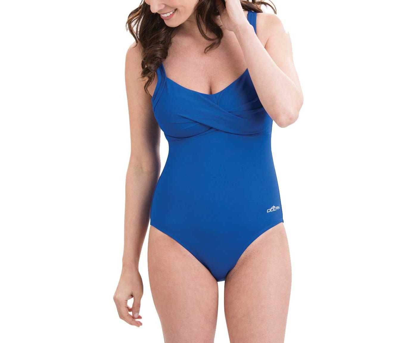 Dolfin Women's Aquashape Drape Front Swimsuit