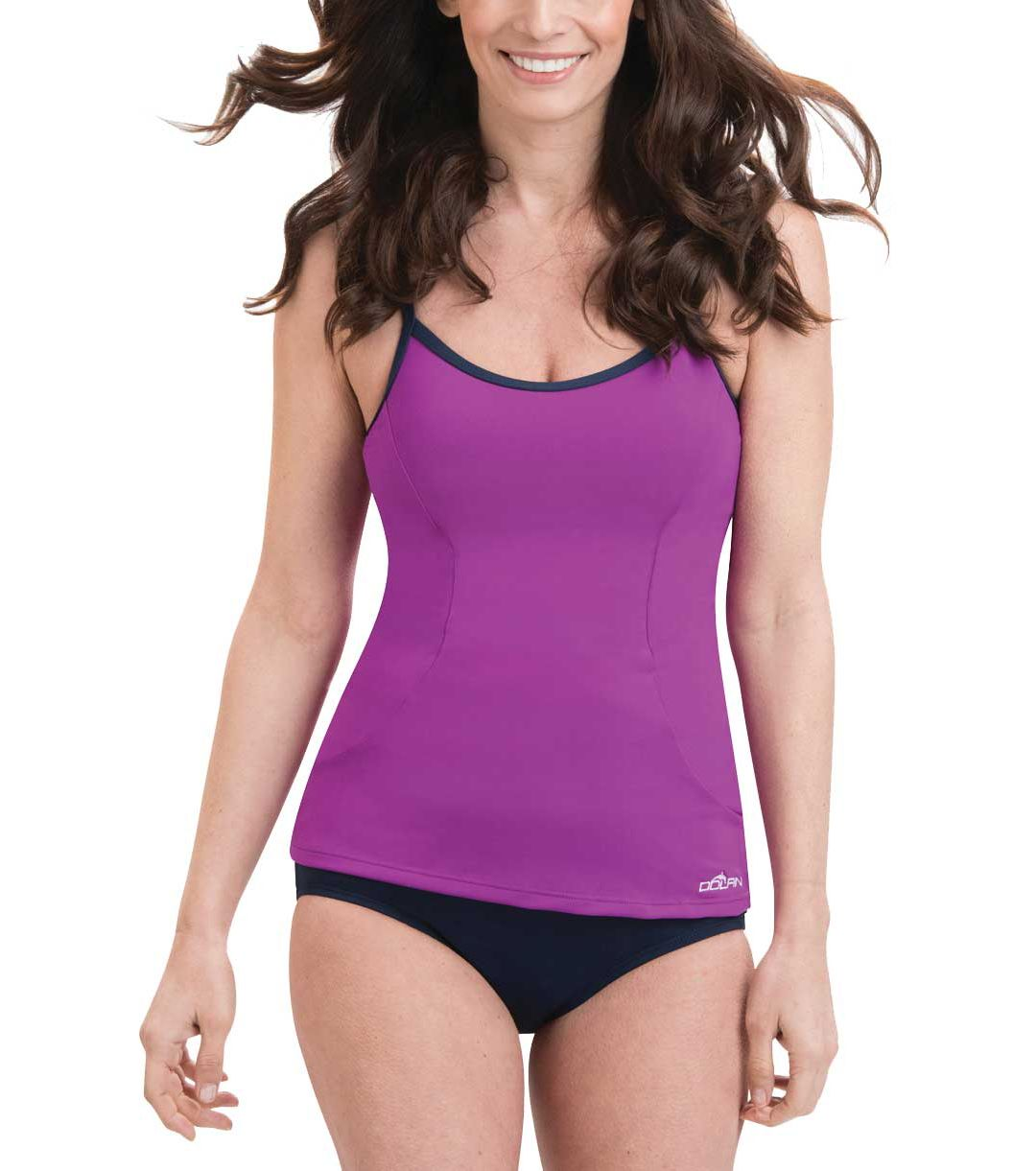 45ecfd970f2a5 Dolfin Women's Aquashape Scoop Neck Tankini Top | DICK'S Sporting Goods