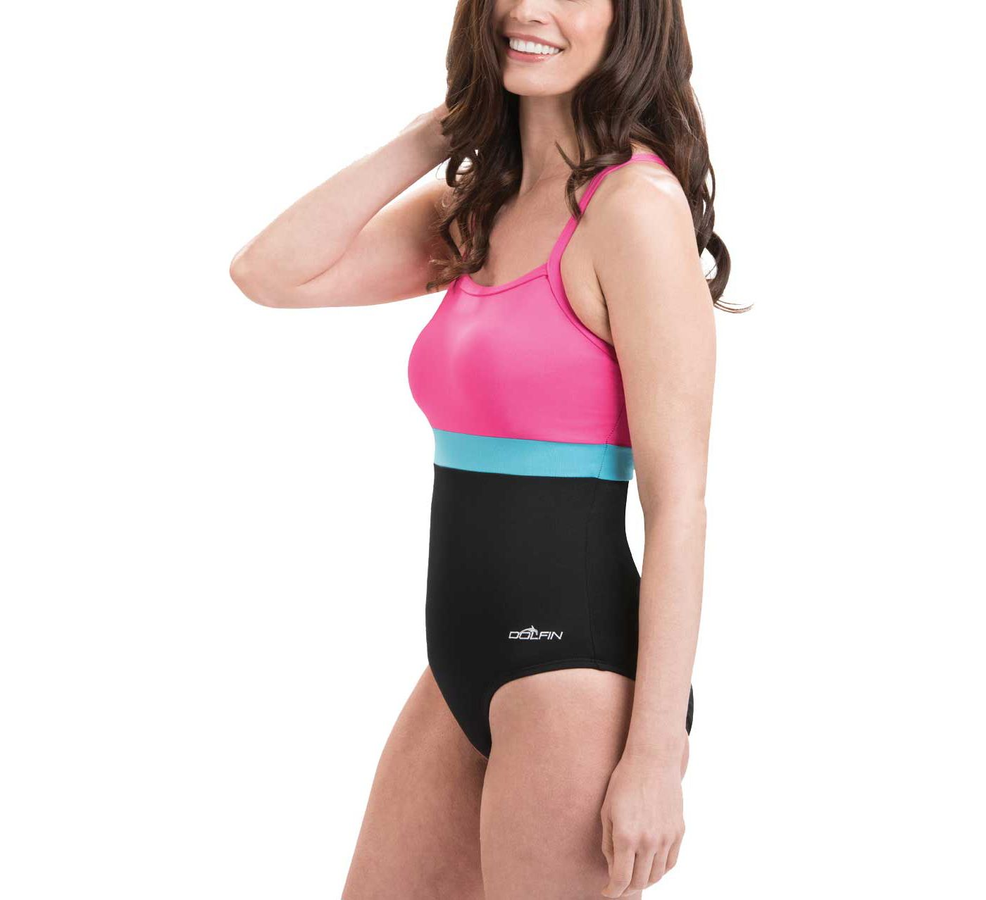 Dolfin Women's Aquashape Colorblock X-Back Swimsuit