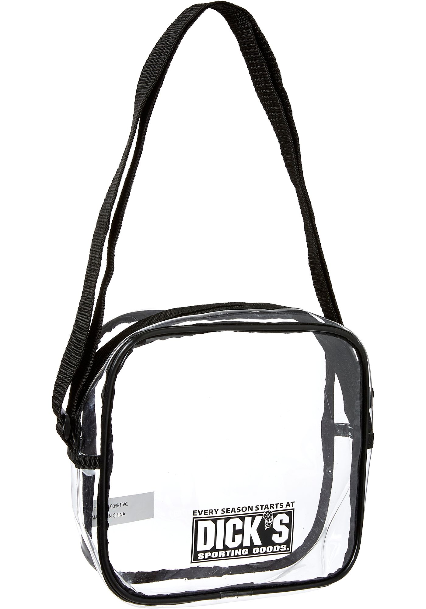 DICK'S Sporting Goods Clear Stadium Cross Body Bag