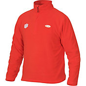 Drake Waterfowl Men's Clemson Half-Zip Camp Fleece Jacket