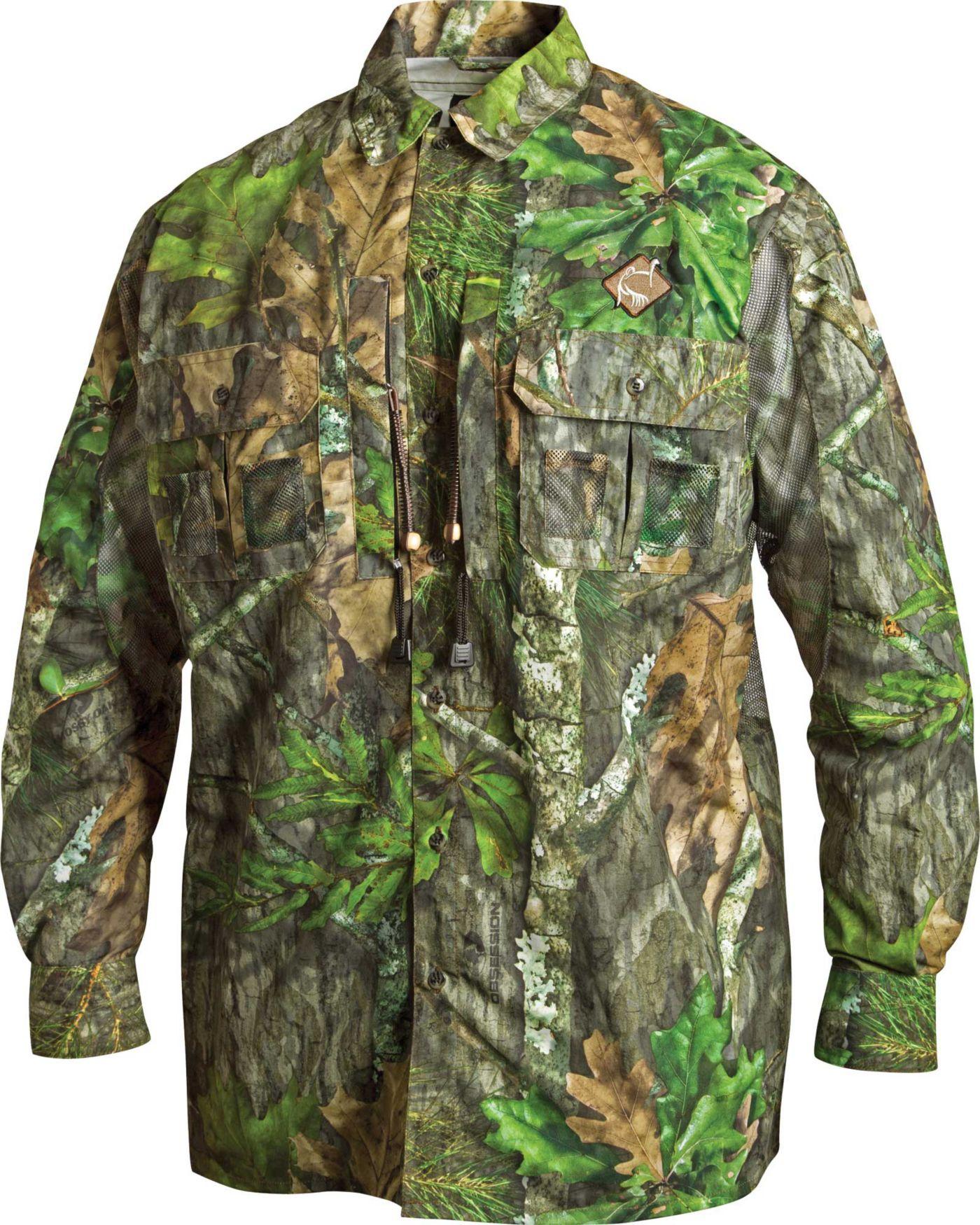 Ol' Tom Men's Vestless Mesh Back Long Sleeve Shirt