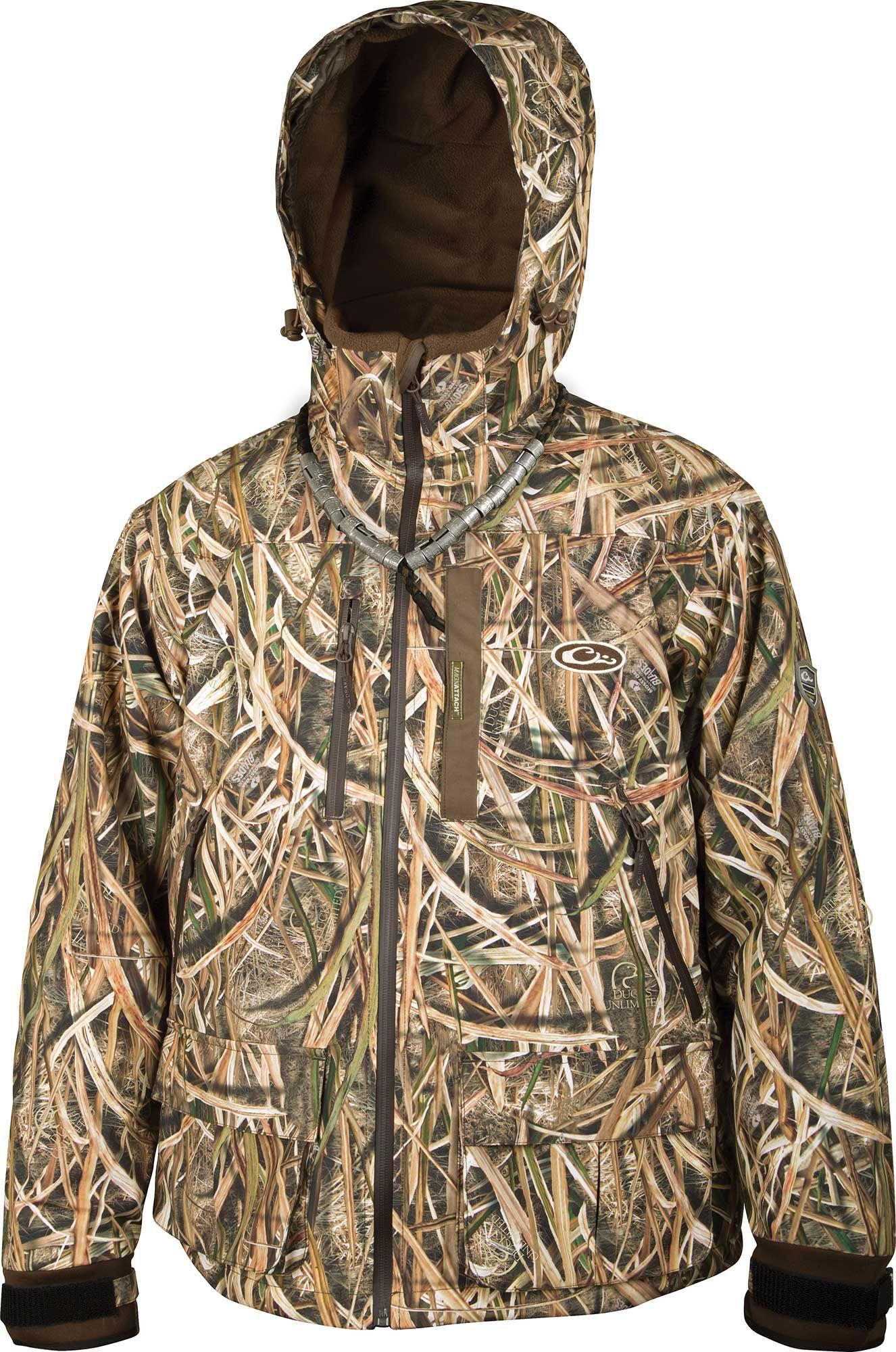 Drake Waterfowl Men's Guardian Elite Hunting Jacket, Size: Large, Brown thumbnail