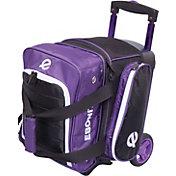 Ebonite Eclipse Single Bowling Ball Roller Bag