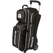 Ebonite Equinox Triple Bowling Ball Roller Bag