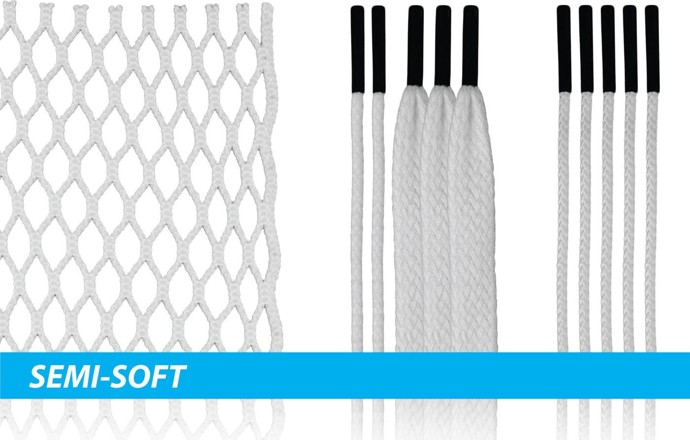 ECD Lacrosse HeroMesh 2.0 Semi-Soft Complete Stringing Kit