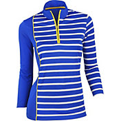 EP Pro Women's Three-Quarter Sleeve Golf Polo