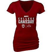 Blue 84 Women's Indiana Hoosiers ESPN College Gameday Crimson T-Shirt