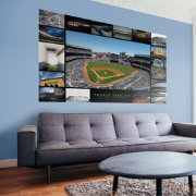 Fathead New York Yankees Then & Now Stadium Mural Wall Decal
