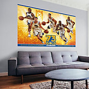 Fathead Golden State Warriors 2016 Wins Record Wall Decal