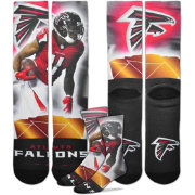 For Bare Feet Atlanta Falcons Julio Jones Player Crew Socks