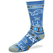 For Bare Feet Detroit Lions Superfan Crew Socks