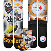 For Bare Feet Pittsburgh Steelers Le'Veon Bell Player Crew Socks
