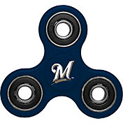 Forever Collectibles Milwaukee Brewers Three Way Diztracto Spinnerz
