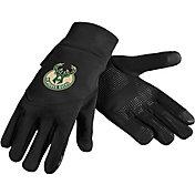 FOCO Milwaukee Bucks Texting Gloves
