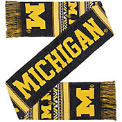 FOCO Michigan Wolverines Ugly Scarf