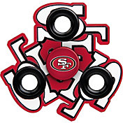 FOCO San Francisco 49ers Logo Three Way Diztracto Spinnerz