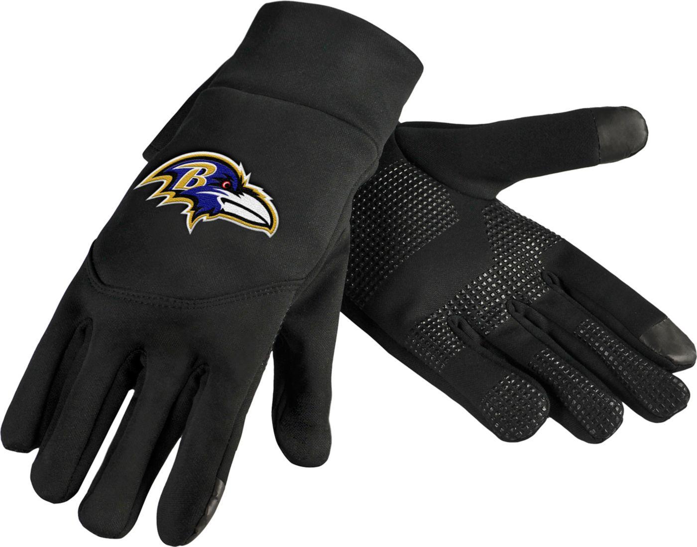FOCO Baltimore Ravens Texting Gloves
