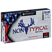 Federal Non-Typical Whitetail SP Rifle Ammunition