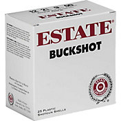 Estate Buckshot 9 Pellet OO 12 Gauge Shotgun Ammunition – 25 Rounds