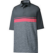 FootJoy Men's Lisle Color Block Space Dye Golf Polo
