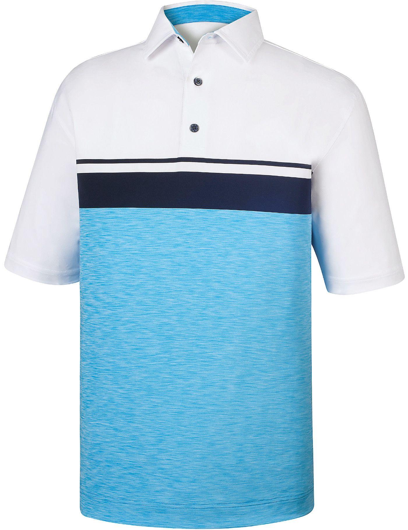 FootJoy Lisle Color Block Space Dye Polo