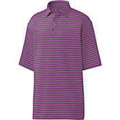 FootJoy Men's Lisle Multi-Stripe Golf Polo