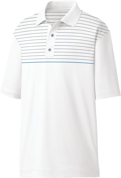 FootJoy Men's Engineered Pinstripe Golf Polo